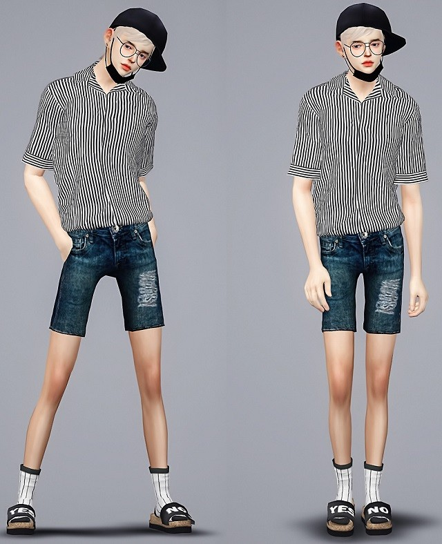 M short jeans by Meeyou_x