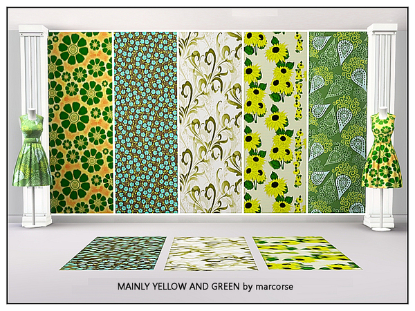 Mainly Yellow and Green_marcorse