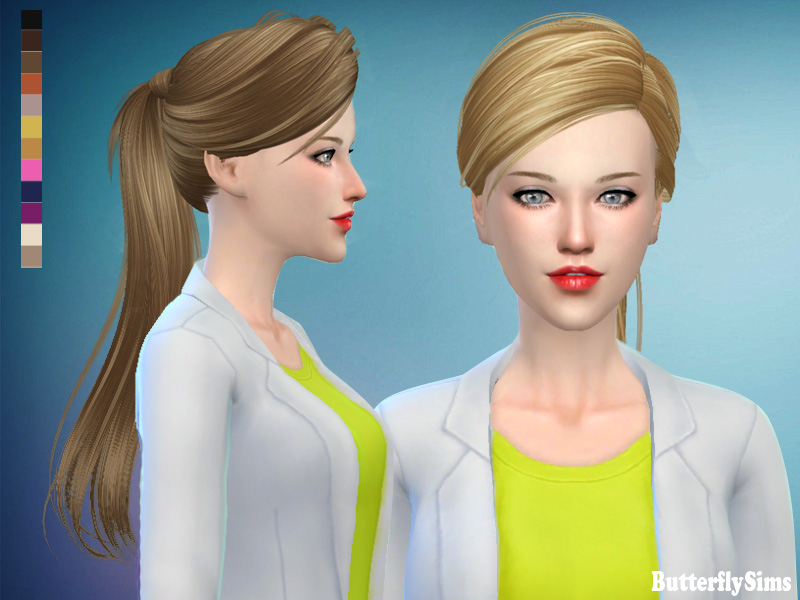 Hairstyle102 by ButterflySims