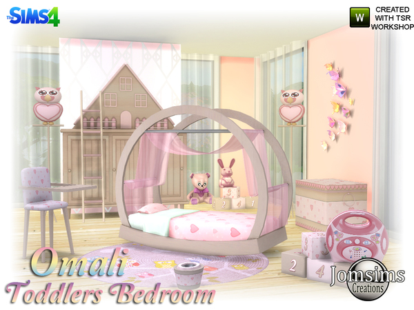 Omali Toddlers Bedroom by jomsims