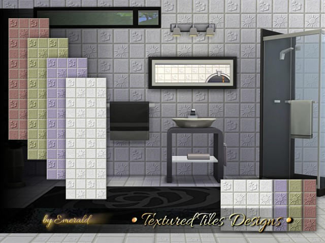 Textured Tiles Designs by emerald