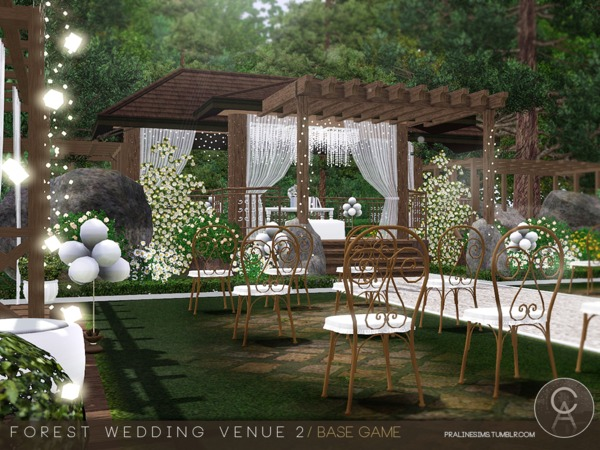 Forest Wedding Venue 2 by Pralinesims