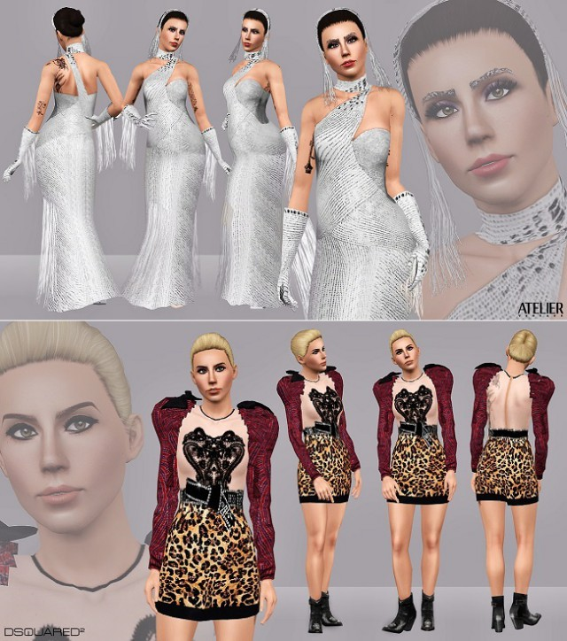 Saturday Night Live  Dsquared Look & New Years Eve  Atelier Versace Gown by ArtSims