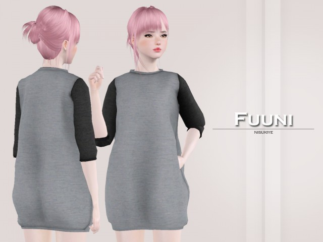 Fuuni ~ Sweater Dress by nisukiye