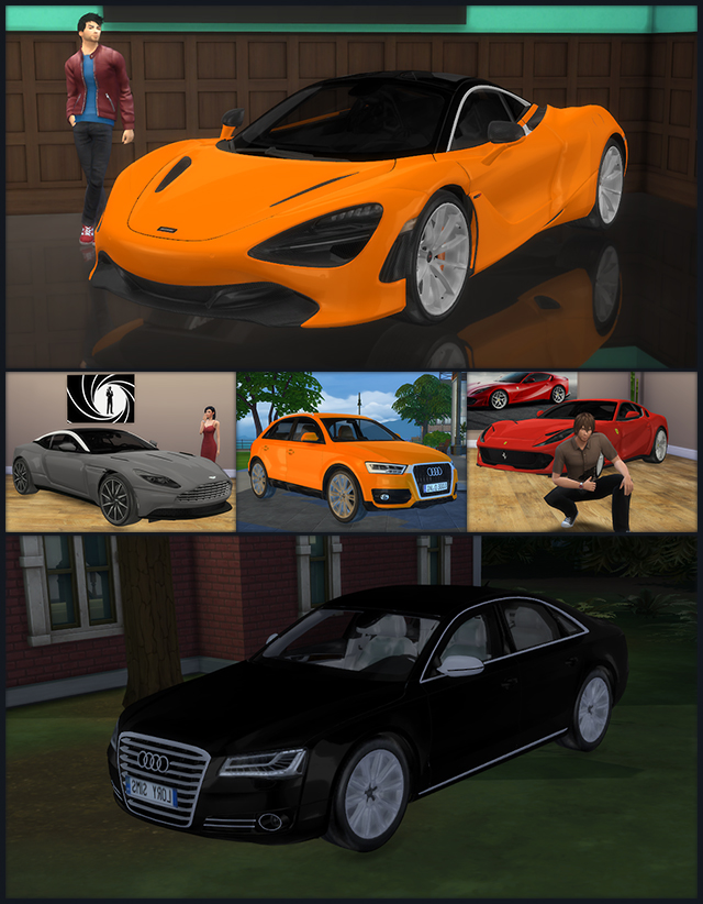Cars (April Collection) by LorySims