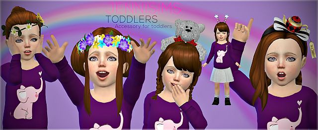 Accessories Set Toddlers (5Acc) Vol5 by JenniSims