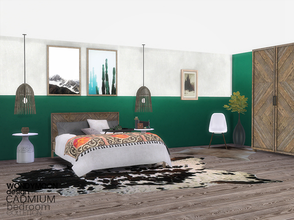 Cadmium Bedroom by wondymoon