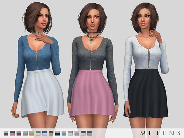 Melusine Dress by Metens