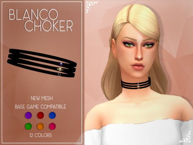 Blanco Choker by Enrique