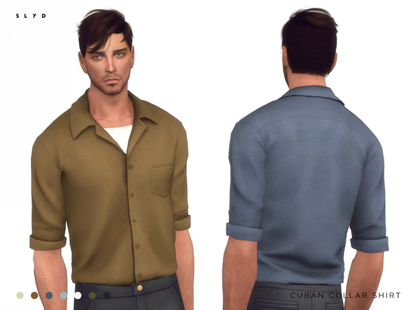 Cuban Collar Shirt by SLYD