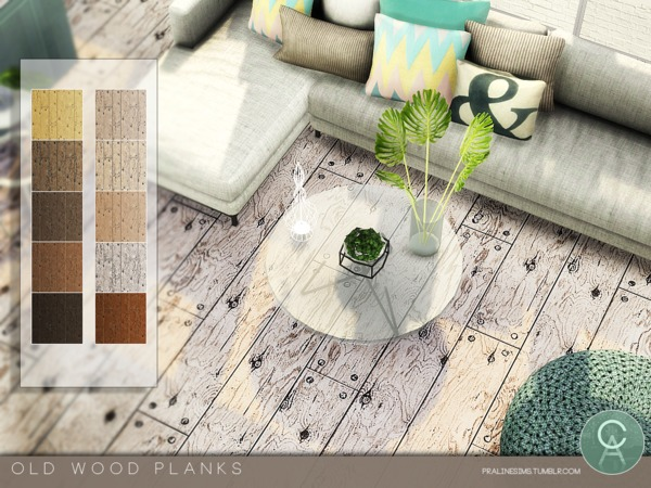 Old Wood Planks by Pralinesims