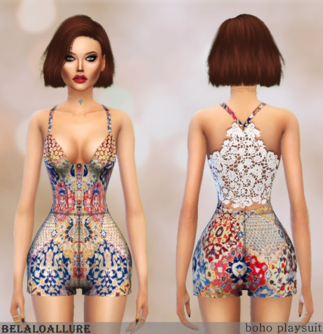 boho playsuit by BelaloAllure