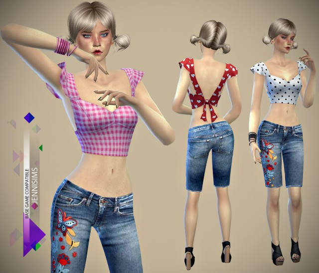 Base Game Сompatible Top by JENNI SIMS