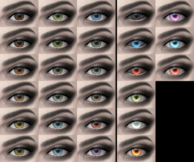 Eyes 08 Spark HQ Default version by alf-si