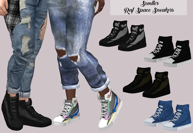 SEMLLER RAF SPACE SNEAKERS by LUMY-SIMS