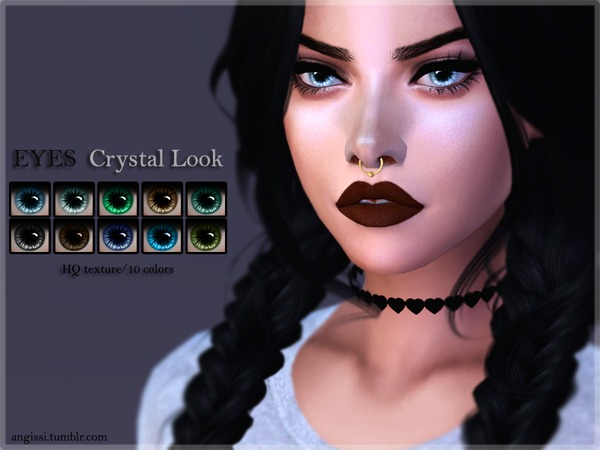 EYES - Crystal Look by ANGISSI