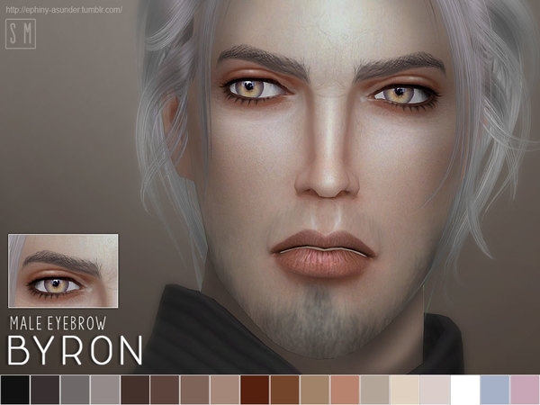[ Byron ] - Male Eyebrows by Screaming Mustard