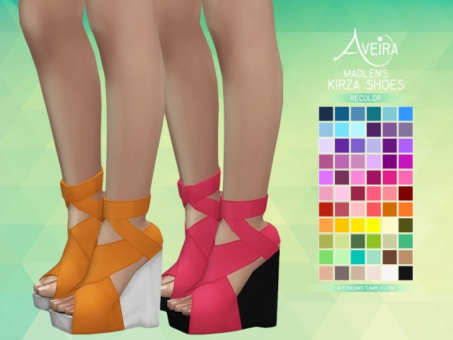 Madlens Kirza Shoes - Recolor by AVEIRA
