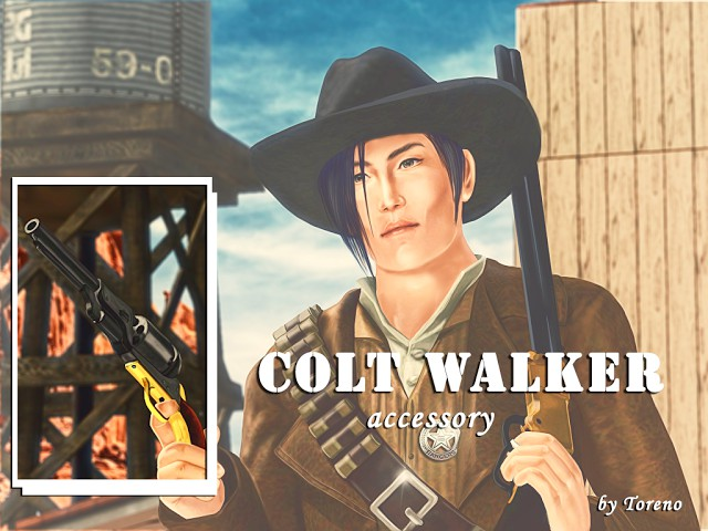 Accessory Colt Walker by Toreno Werty