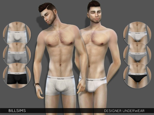 Designer Underwear by Bill Sims