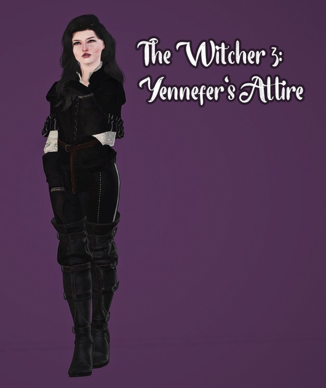 Yennefer's Outfit by minervamagicka