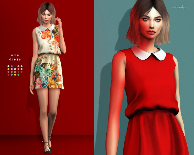 elle dress by serenity