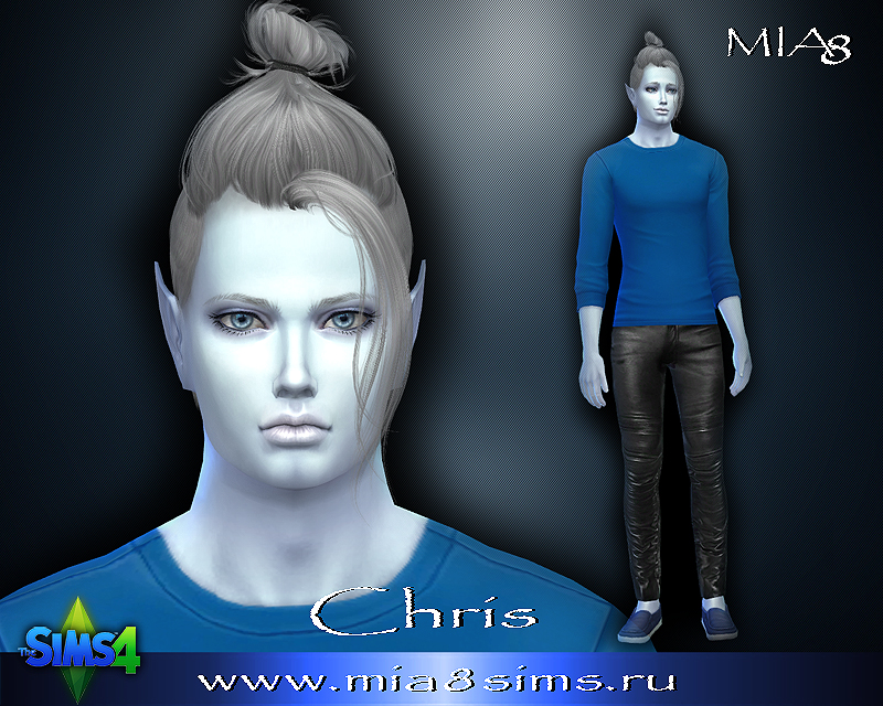 Chris (alien) by Mia8