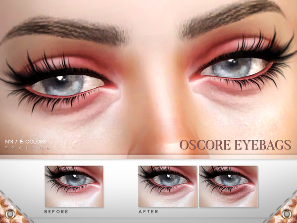 Oscore Eyebags N14 by Pralinesims