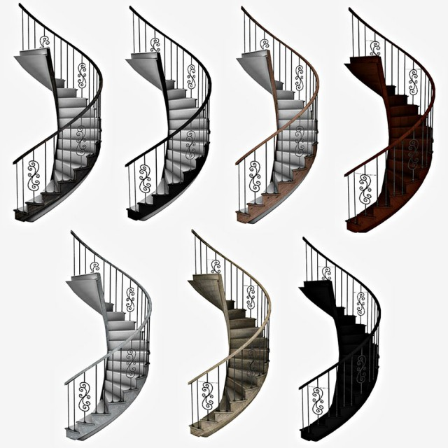 Spiral Stairs by Leo-Sims