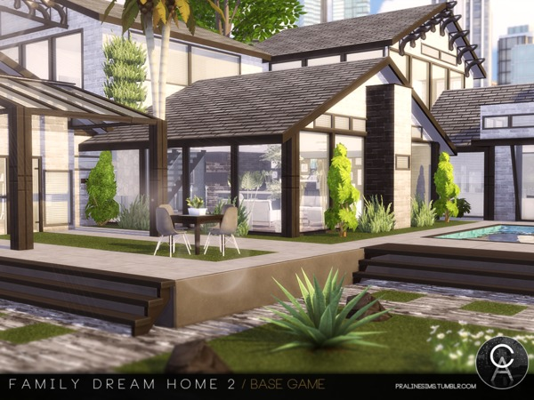 Family Dream Home 2 by Pralinesims
