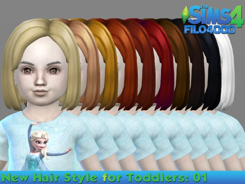 Toddler Hair 01 by filo4000