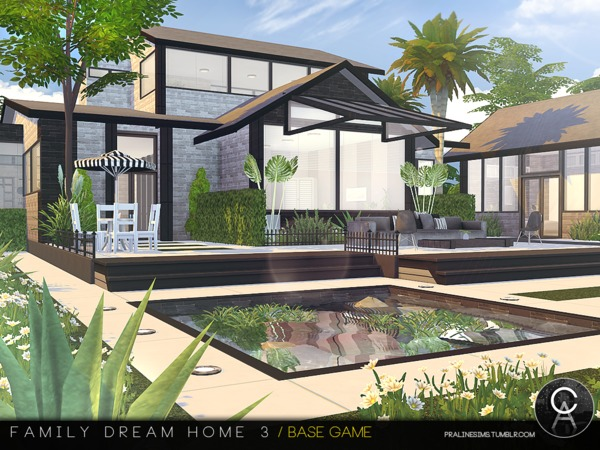Family Dream Home 3 by Pralinesims