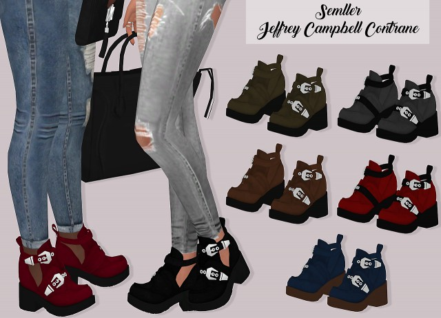 Semller Jeffrey Campbell Contrane by LumySims