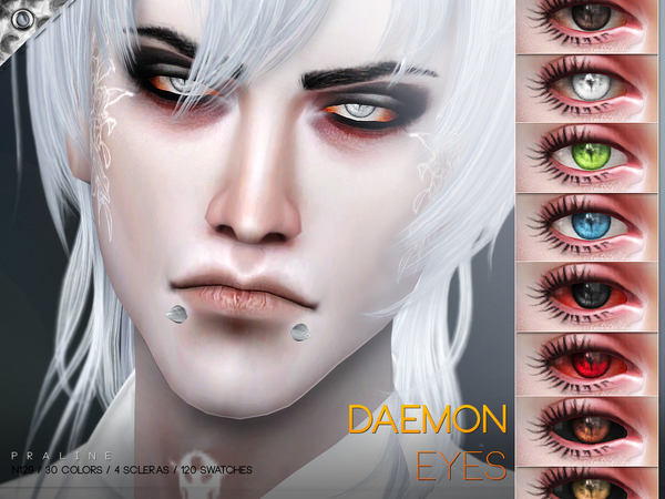 Daemon Eyes N129 by Pralinesims