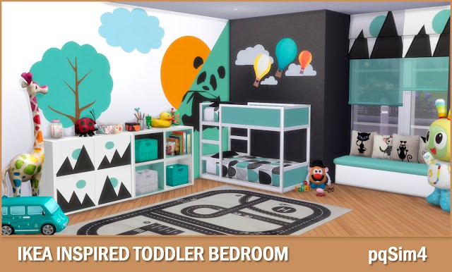 Ikea Inspired Toddler Bedroom by pqSim4