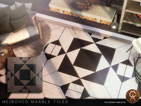 Meirchio Tiles by Pralinesims