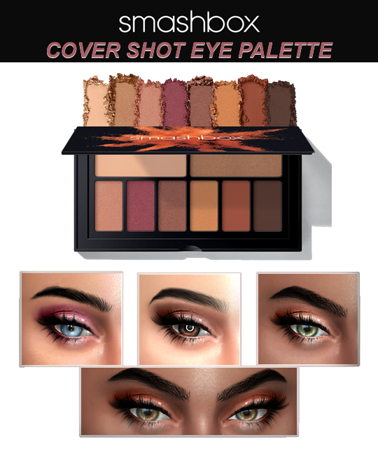 SMASHBOX COVER EYE SHOT PALETTE ABLAZE by kenzar-sims
