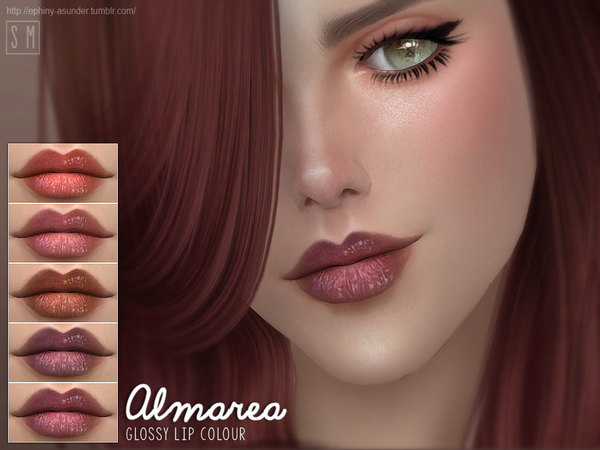 [ Almarea] - Glossy Lip Colour by Screaming Mustard