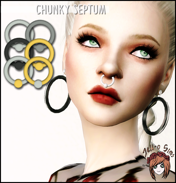 Chunky septum by Jell-o-Sims