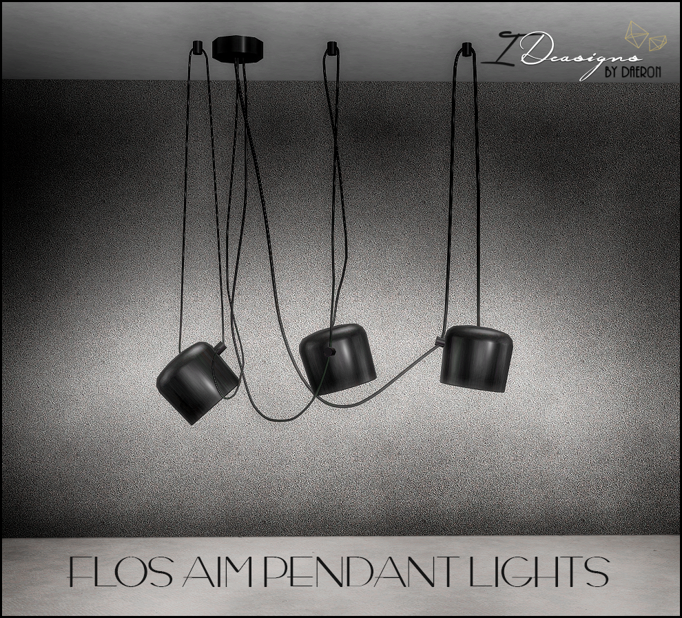 Designer Lights (new meshes) by sims4designs