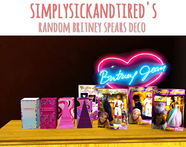 Britney PERFUME & DOLLS by simplysickandtired