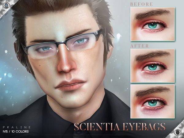 Scientia Eyebags N15 by Pralinesims