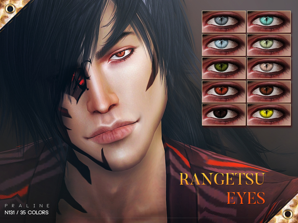 Rangetsu Eyes N131 by Pralinesims