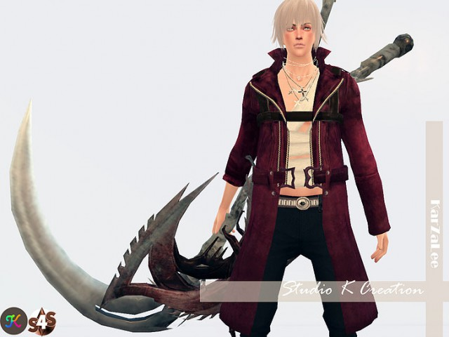 DMC outfit with weapons by Karzalee