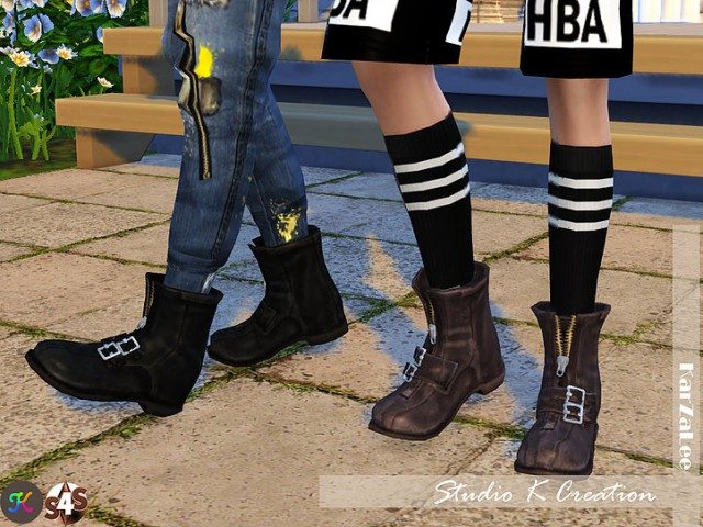 Short boots - N3 by Karzalee