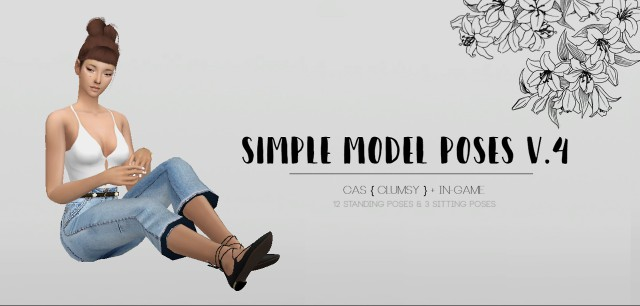 Simple Model poses V.4 by CatsBlob