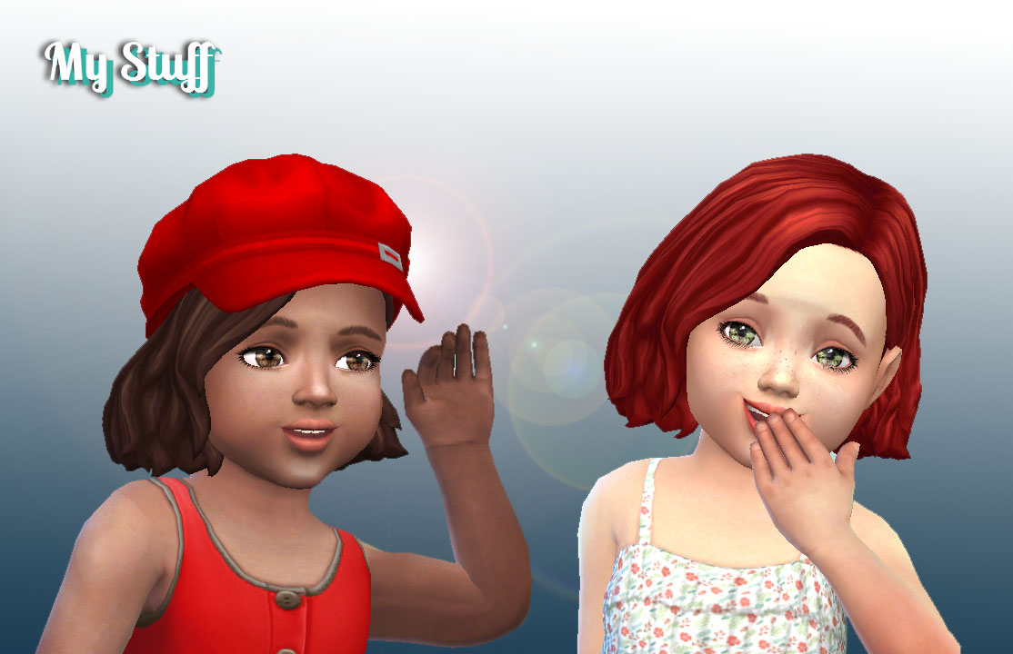 Amalia Hairstyle for Toddlers by MY STUFF