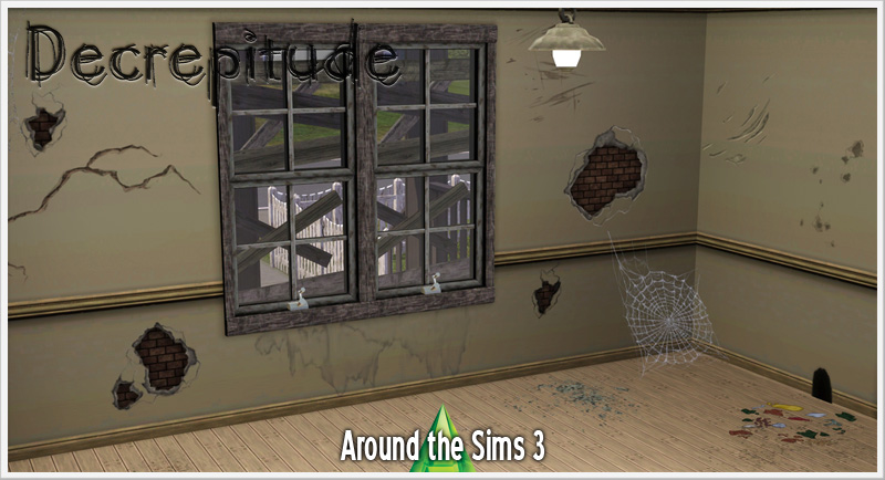 Sims 4 to 3  Decrepitude by Sandy