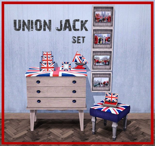 Union Jack Set by Mspoodle1
