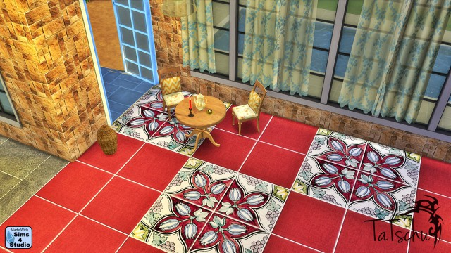 35 Ornate Tiles and 18 Solid Tiles by TaTschu